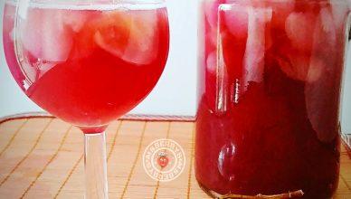 pulpy grapes juice