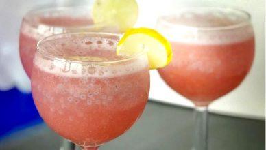 Sparkling Pink Guava Lemonade