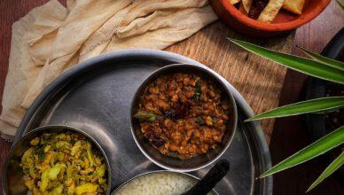 Payar Upperi Payar curry Green gram curry